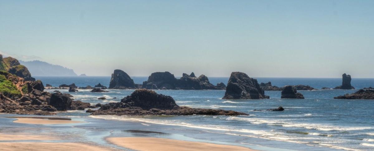 Rocky Oregon Coast.