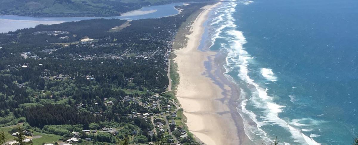 View from Neahkahnie Mountain Oregon Coast