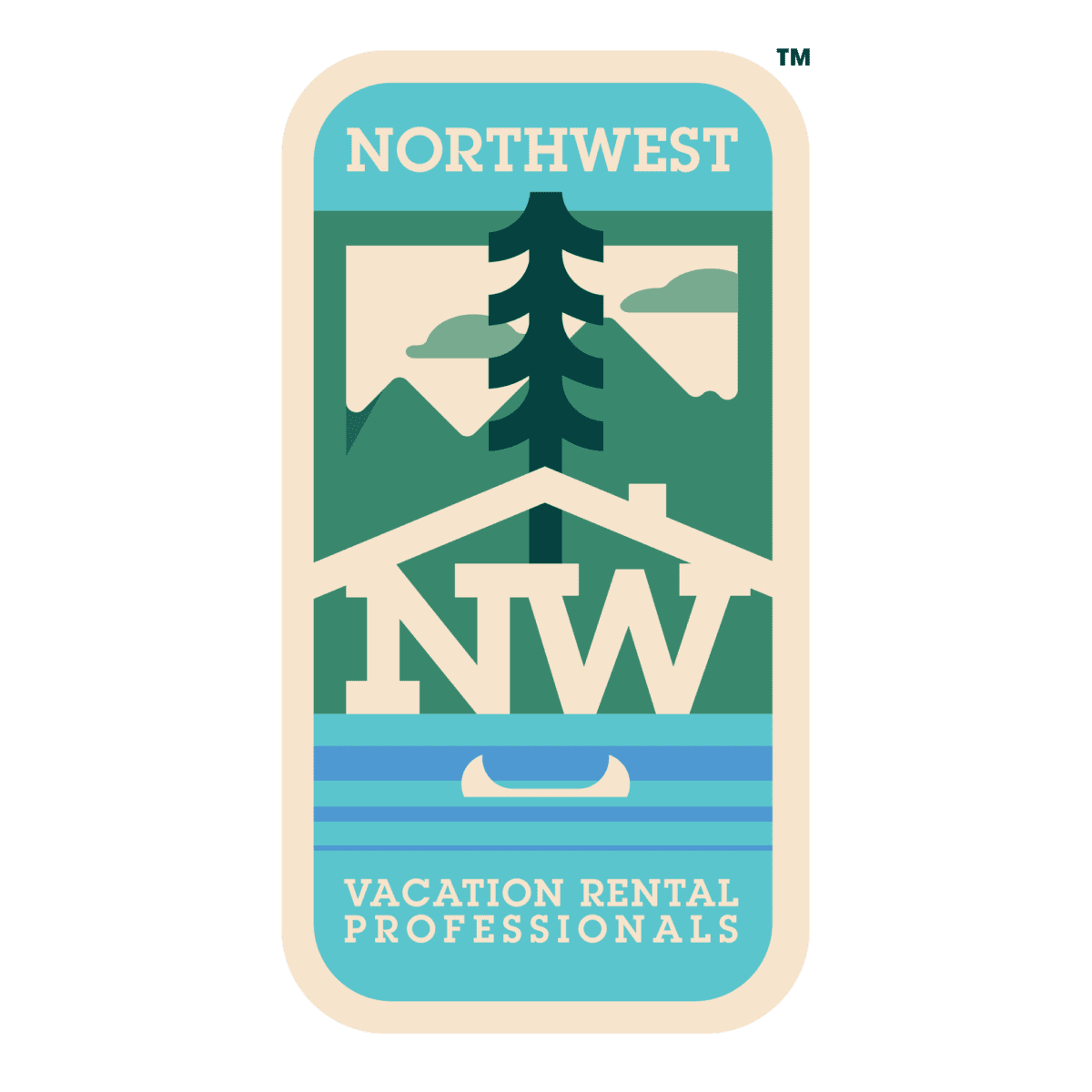 Northwest Vacation Rental Associates logo