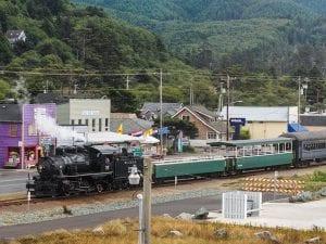 oregon coast train