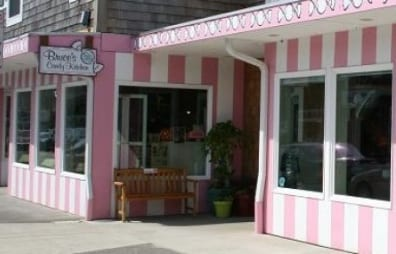 Bruce's Candy shop exterior.