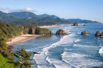 Cannon Beach coast.