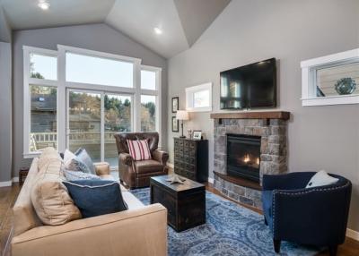 Seven Spruce - living room.