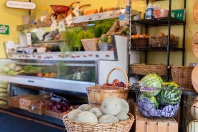 Wild Grocery & Cafe interior.